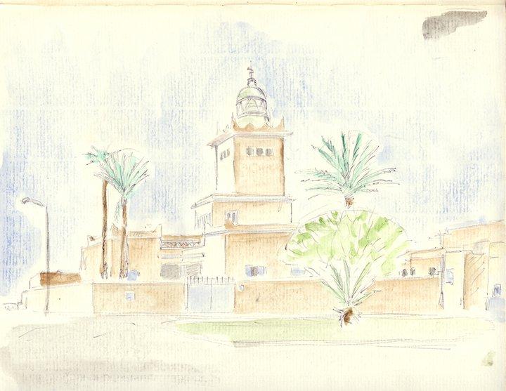 Le phare de Sidi Ifni